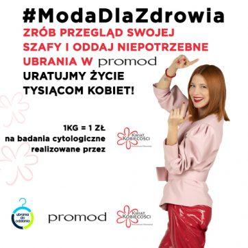 Akcja w butikach Promod