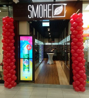 Otwarcie sklepu Smoke Shop