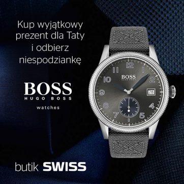 Świętuj dzień Taty z marką Boss w butiku SWISS!