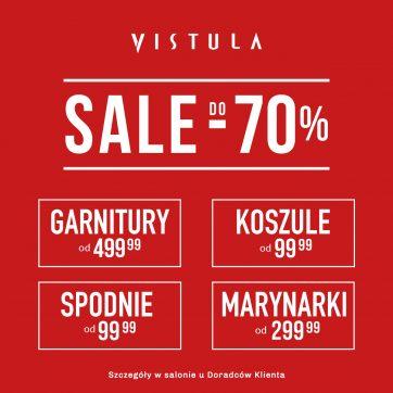 Super ceny w salonie Vistula. Sale do -70%