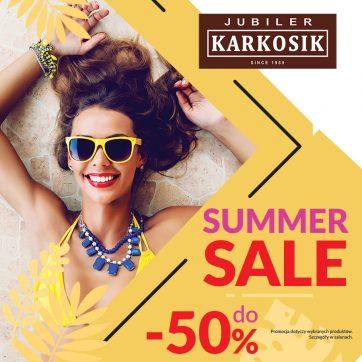 Summer sale w Jubiler Karkosik