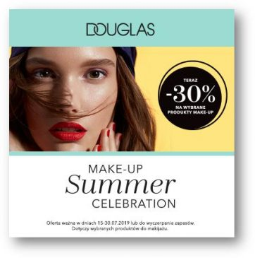 Make-Up summer celebration w Douglas