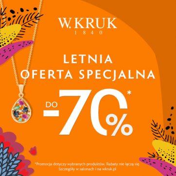 Letnia oferta specjalna W.Kruk
