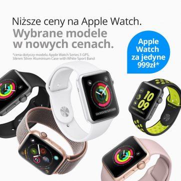 Niższe ceny na Apple Watch w iDream