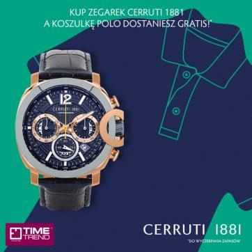 Prezent od marki Cerruti w Time Trend