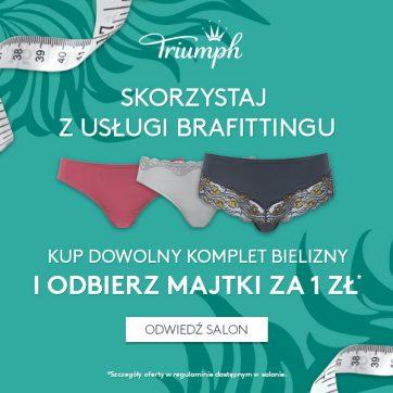Skorzystaj z usługi brafittingu w Triumph