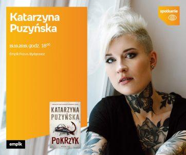 Spotkanie autorskie z Katarzyną Puzyńską