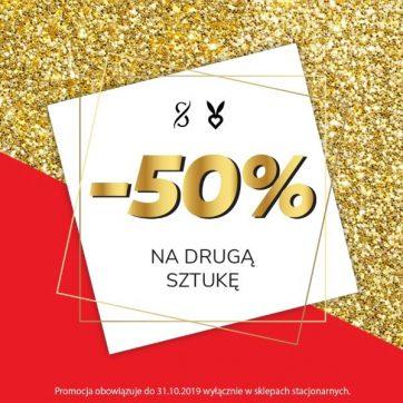 -50% na drugą sztukę w Sugarfree