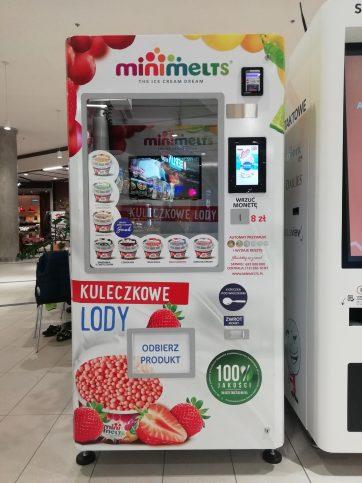 Witamy w naszym gronie automat Mini Melts