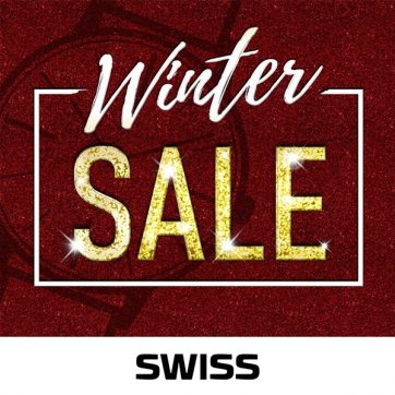WINTER SALE w butikach SWISS