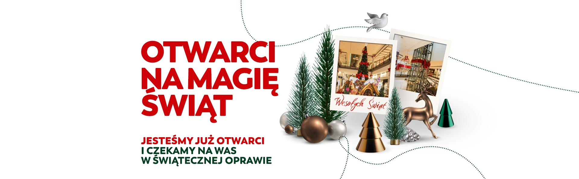 Otwarci na magię Świąt
