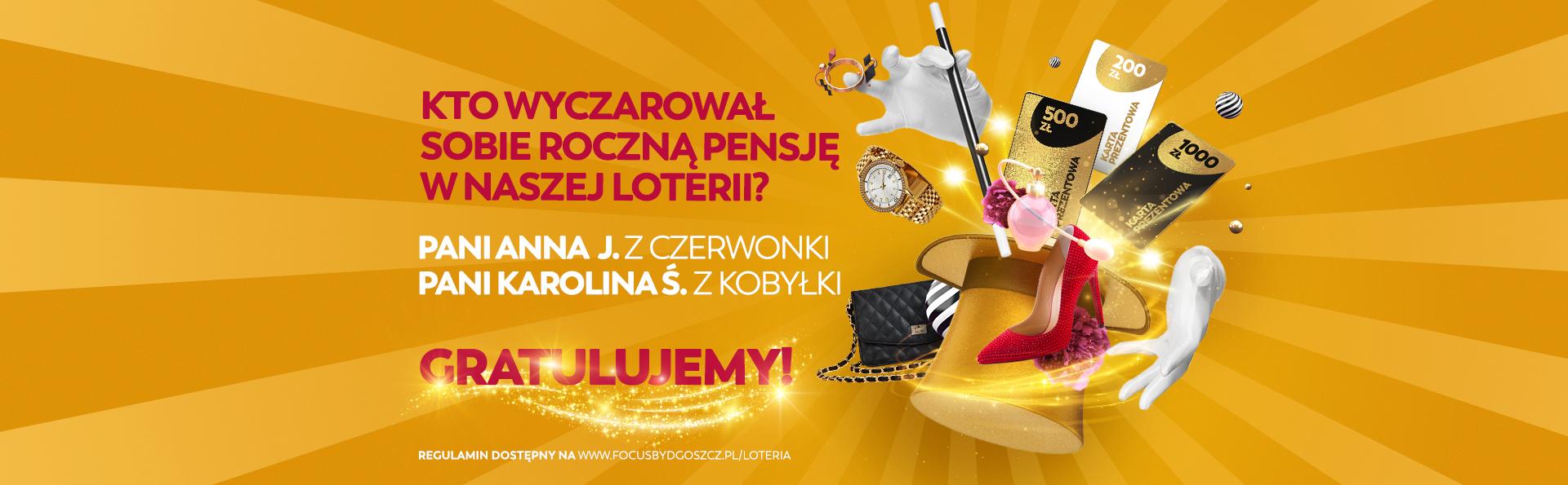 Zwycięzcy w loterii