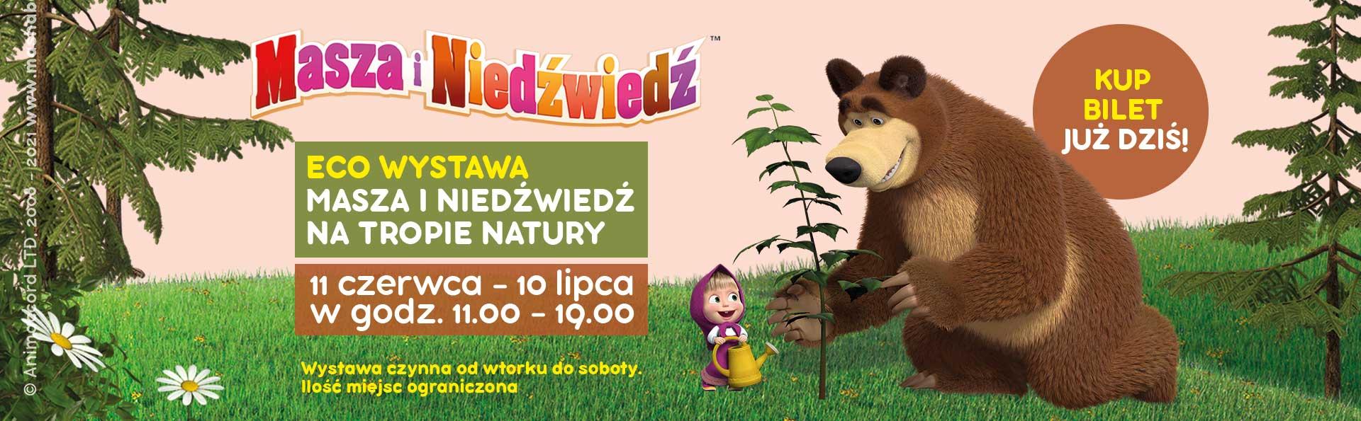 Wystawa Masza i Niedźwiedź